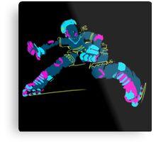 Electric Skater Metal Print