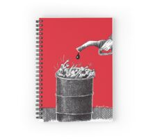Peak Oil Spiral Notebook