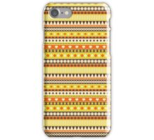 Stripes yellow. iPhone Case/Skin