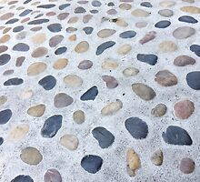 Pebbles in the Pavement by OneDayOneImage Photography