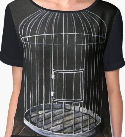 The Bird Cage Chiffon Top