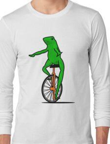 Dat Boi Unicycle Frog T-Shirt Long Sleeve T-Shirt