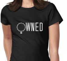 Owned, BDSM T-shirt Womens Fitted T-Shirt