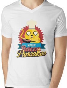 Jake The Dog. Mens V-Neck T-Shirt