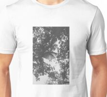 Big weekend umbrellas in trees  Unisex T-Shirt