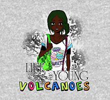 Like Young Volcanoes | FOB Women's Fitted Scoop T-Shirt