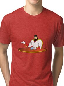 Space Ghost Tri-blend T-Shirt