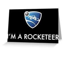 I'm a Rocketeer Greeting Card