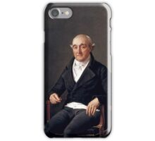 Jacques-Louis David,  Portrait of Cooper Penrose,  iPhone Case/Skin
