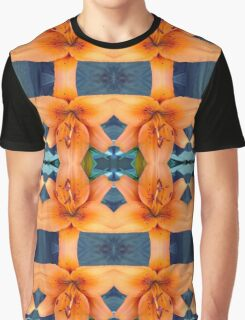 Tiger Lily Check Graphic T-Shirt