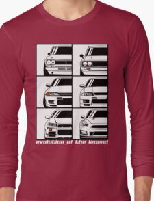 Nissan Skyline. Evolution Long Sleeve T-Shirt