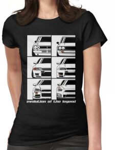 Nissan Skyline. Evolution Womens Fitted T-Shirt
