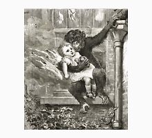 Monkey rescuing a child from a fire Unisex T-Shirt