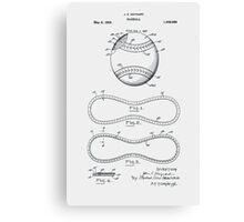 Baseball Patent 1928 Canvas Print