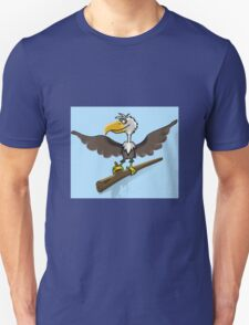 Cartoon bird Unisex T-Shirt