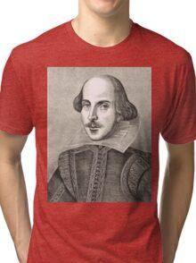 William Shakespeare The Bard of Avon Tri-blend T-Shirt