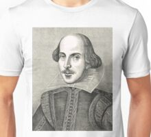 William Shakespeare The Bard of Avon Unisex T-Shirt