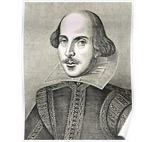 William Shakespeare The Bard of Avon Poster