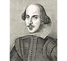 William Shakespeare The Bard of Avon Photographic Print