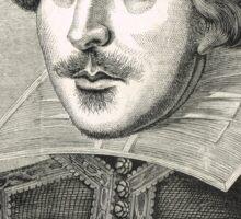 William Shakespeare The Bard of Avon Sticker