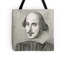 William Shakespeare The Bard of Avon Tote Bag