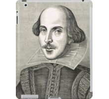 William Shakespeare The Bard of Avon iPad Case/Skin