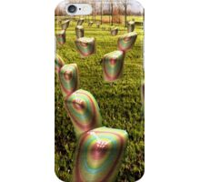Graveyard of Thumbs-up iPhone Case/Skin