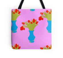 tulip patern Tote Bag