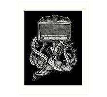 Robot Rock Art Print
