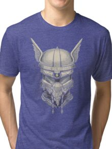 Viking Robot Tri-blend T-Shirt