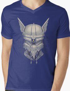 Viking Robot Mens V-Neck T-Shirt