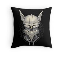 Viking Robot Throw Pillow