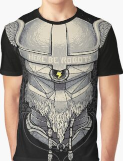 Viking Robot Graphic T-Shirt