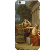 Oedipus at Colonus ,  Jean Antoine Theodore Giroust iPhone Case/Skin