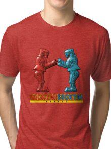 Rock'em Sock'em - 3D Variant Tri-blend T-Shirt