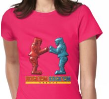 Rock'em Sock'em - 3D Variant Womens Fitted T-Shirt