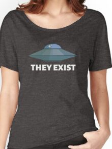They exist (UFO) Women's Relaxed Fit T-Shirt