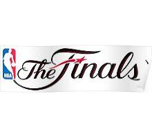 NBA finals Poster