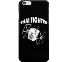 THAI FIGHTER - FOOD ATTACK iPhone Case/Skin