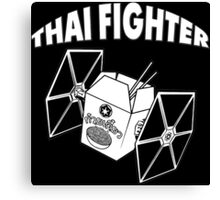 THAI FIGHTER - FOOD ATTACK Canvas Print