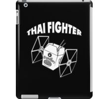 THAI FIGHTER - FOOD ATTACK iPad Case/Skin