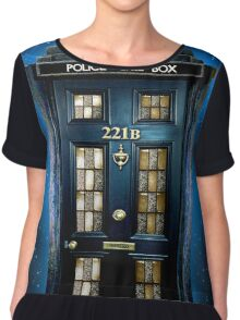 Space Traveller Box with 221b number Chiffon Top
