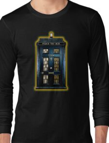 Space Traveller Box with 221b number Long Sleeve T-Shirt