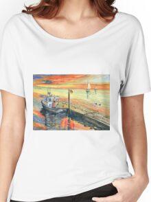 A Delightful Evening Women's Relaxed Fit T-Shirt