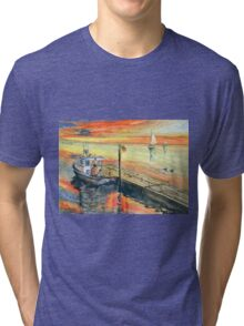 A Delightful Evening Tri-blend T-Shirt