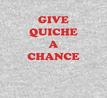 Give Quiche A Chance - Red Dwarf Inspired T-Shirt Rimmer Quote Sticker Unisex T-Shirt