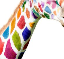 Colourful Giraffe  Sticker