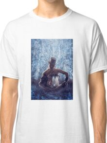 Man and the dragon Classic T-Shirt