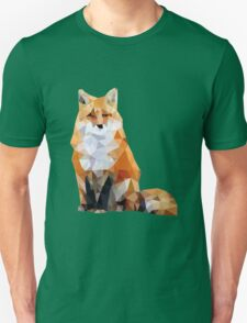Geometric Fox Unisex T-Shirt