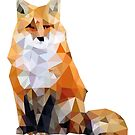 Geometric Fox by eraygakci